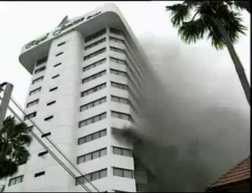 กรณีศึกษาเหตุการณ์เพลิงไหม้รุนแรงในอดีต